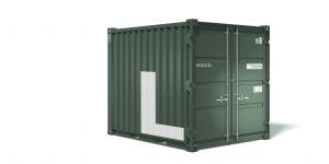 Lager-Feld.at - Mietcontainer für Büro oder Lagerfläche in Lebring bei Graz